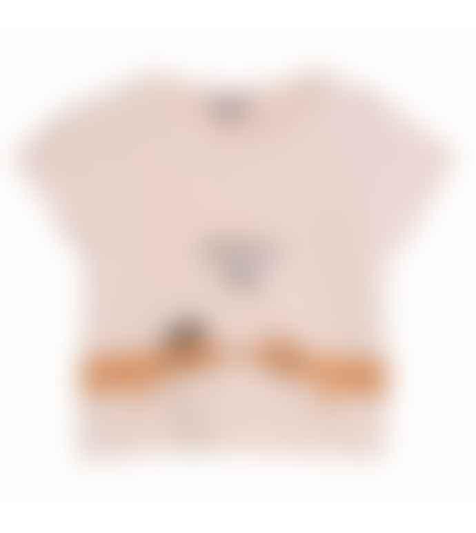 Emile Et Ida Bons Baisers De Paris Printed Baby T Shirt