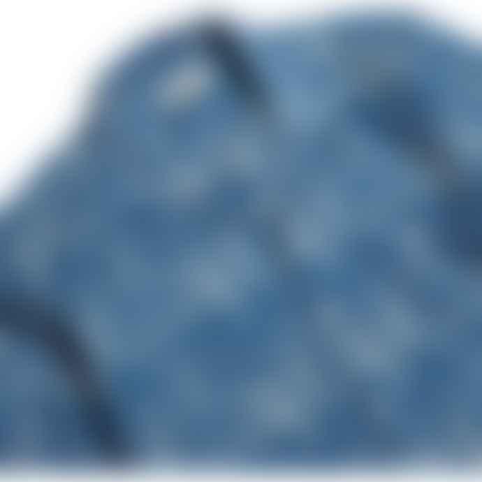 Far Afield Selleck Puebla Blue Linen Shirt