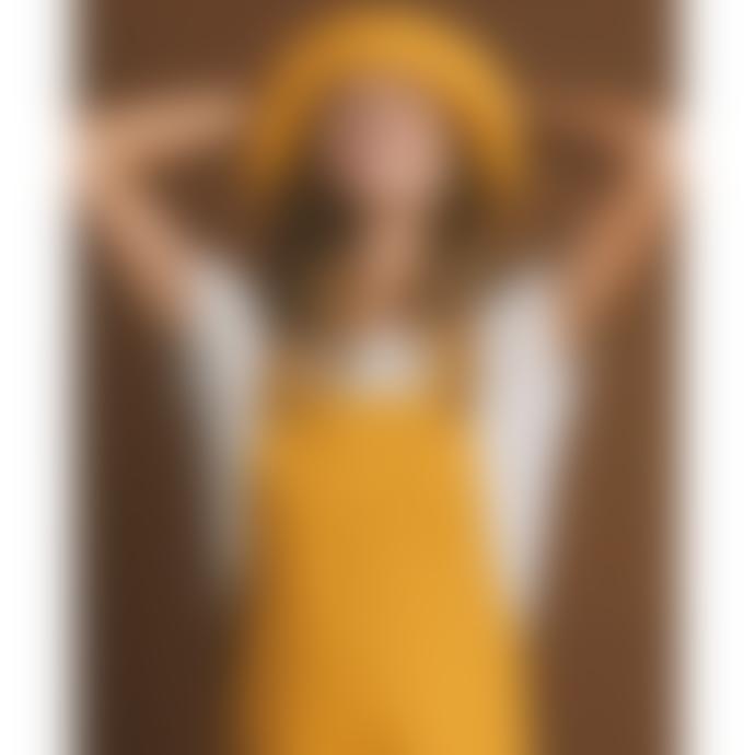 Thinking Mu Mustard Amelie Dress