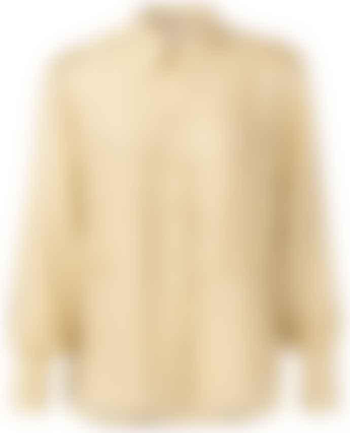 Yaya Dusty Oker Silk Blend Shirt