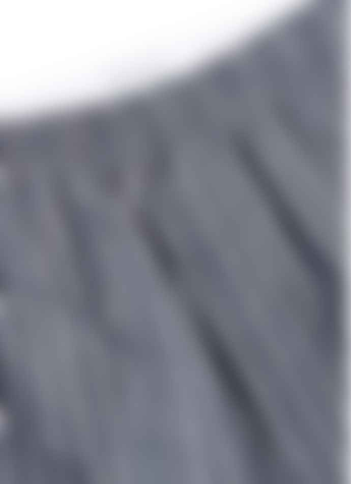 Sunspel Boxer Short Dobby Pin Stripe Navy