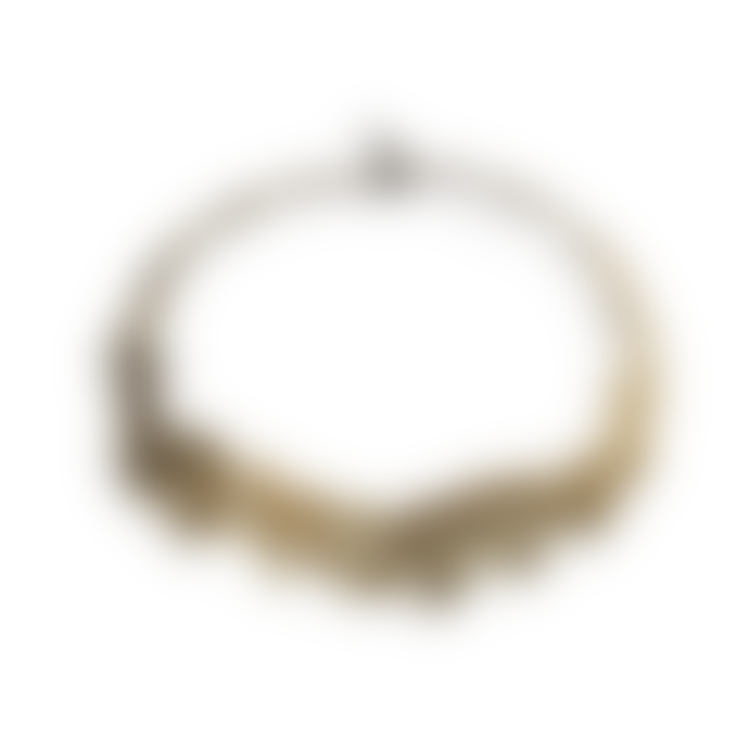 Maison 203 3D printed Gold and Gold White No 1 Bicolor Penrose Necklace