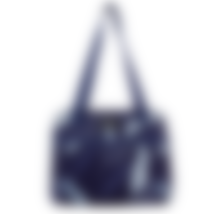 PackIt Hampton Lunch Ice Pack Bag Navy Leaves