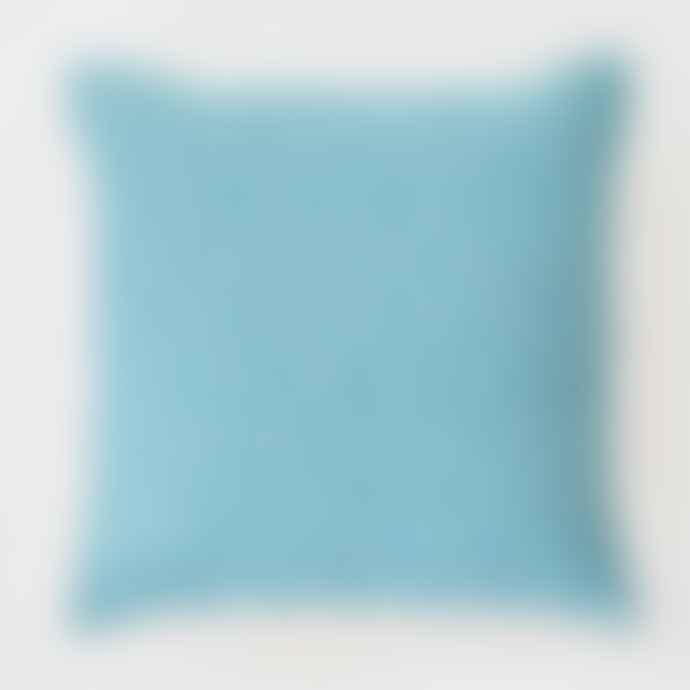Weaver Green Diamond Hammam Cushion Teal 45 X 45 Cm