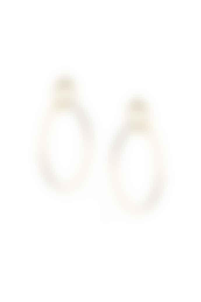 Tutti & Co Gold Grace Earrings