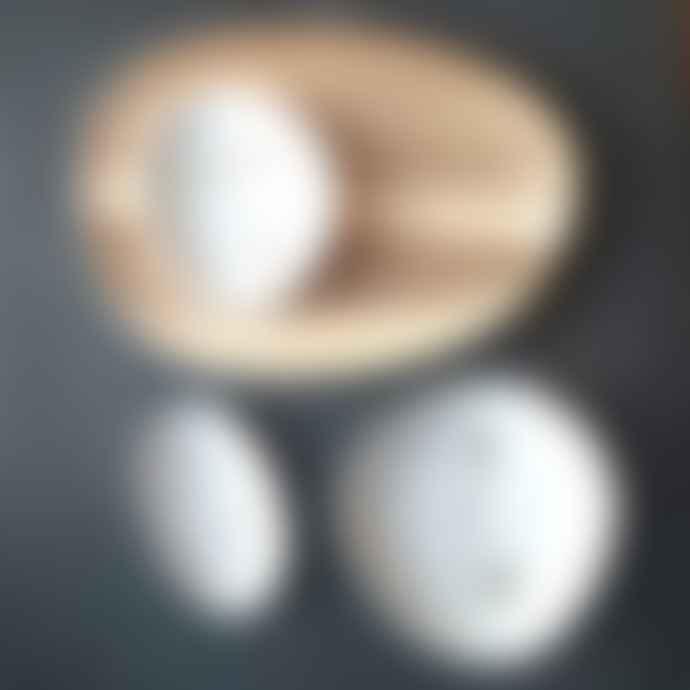 Rader Set of 3 Porcelain Gold Wonderland Trinket Dishes