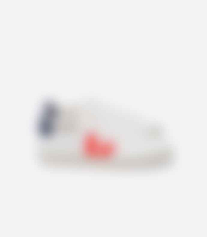 Veja White Orange Fluo Cobalt Campo Sneaker