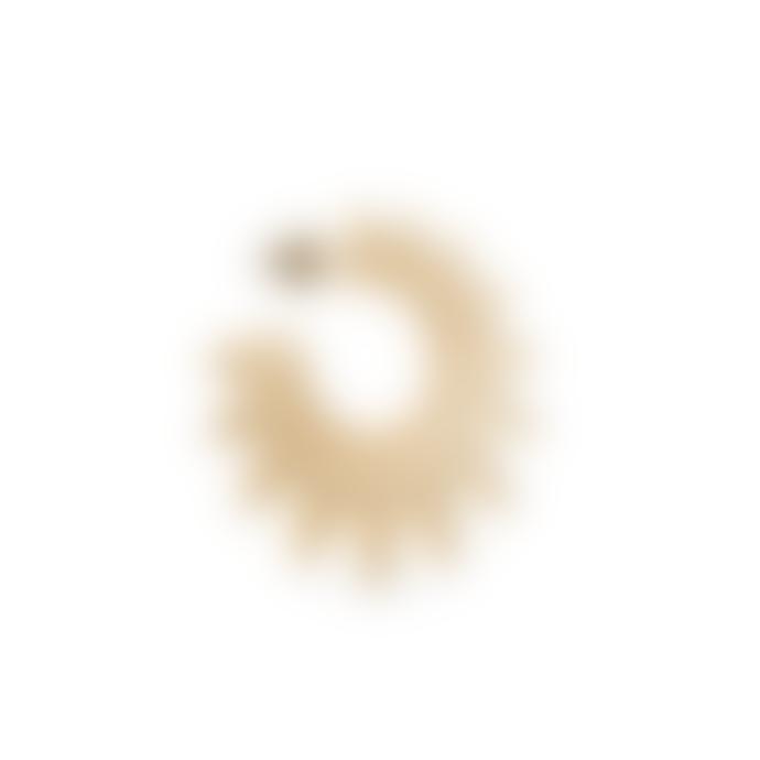 Jane Kønig Sun Earrings Gold-Plated Silver