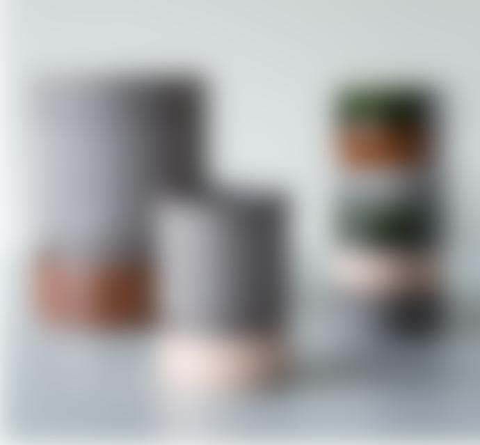 Bergs Potter Hoff Pot and Saucer 8cm