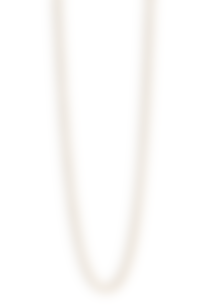 Jane Kønig Anchor Chain Necklace Gold-Plated Silver