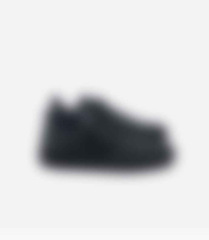 Veja Black Leather V-10 Sneaker