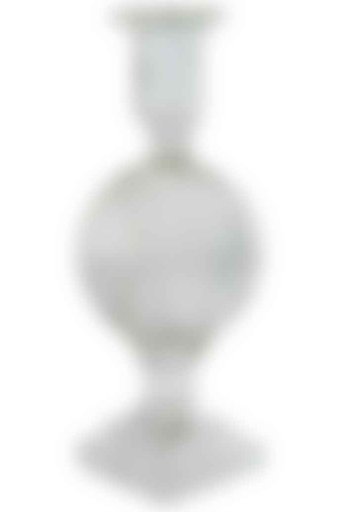 eja international glass candle holder high