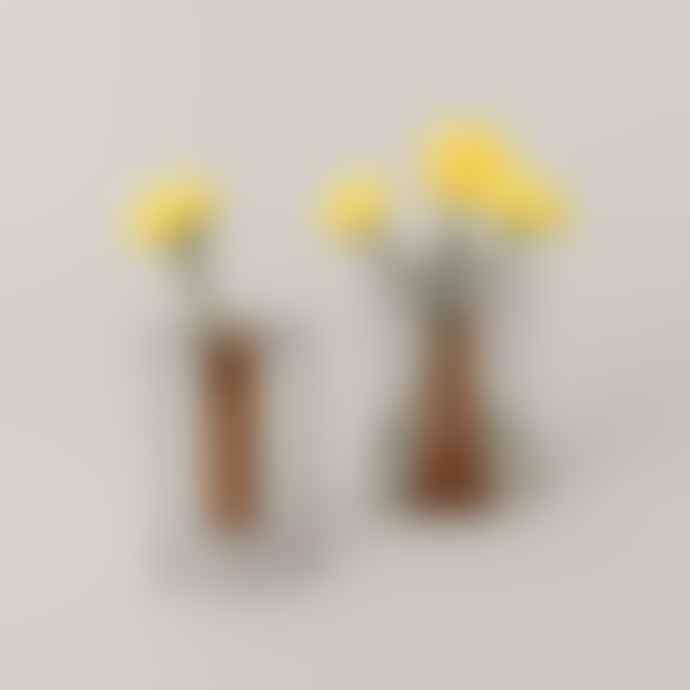 Block Design Small Reversible Vase
