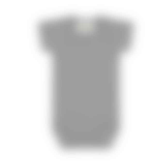 Vild - House Of Little Grey Melange Seacell Bodysuit