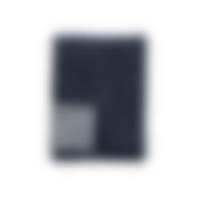 Klippan Yllefabrik 130 x 180cm Denim Peak Premium Plaid