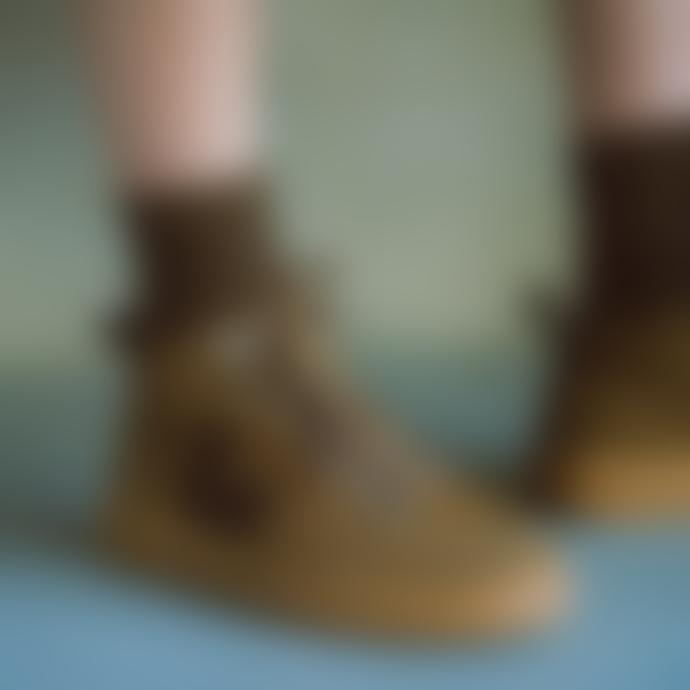 Veja Brown Black Gum Sole Roraima Suede Sneakers