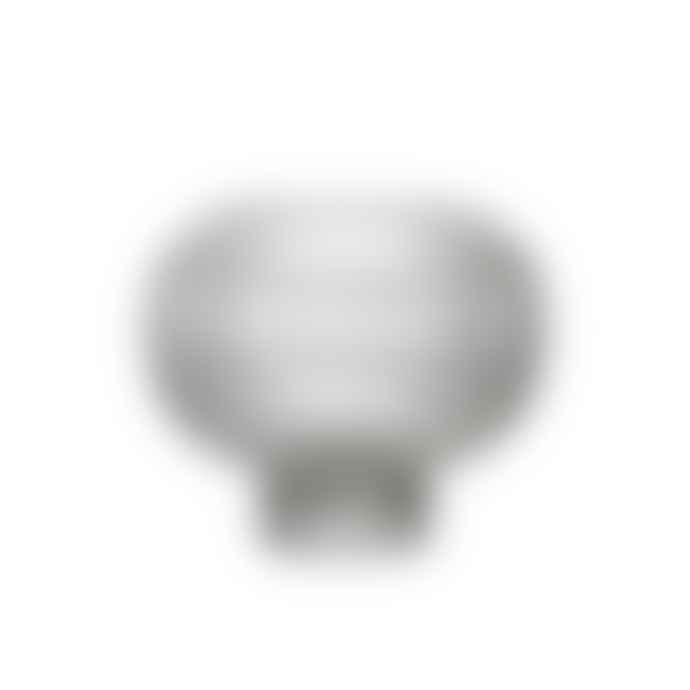 ByOn Glass Ripple Sphere Vase