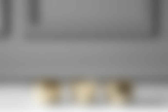 Skultuna Set of 3 Brass Chin Headlight Candle Holder
