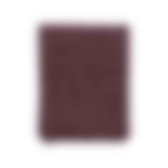 Klippan Yllefabrik Burgundy Wool Peak Premium Blanket