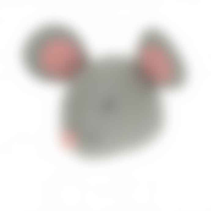 Fiona Walker England Sleepy Mouse Head Mini