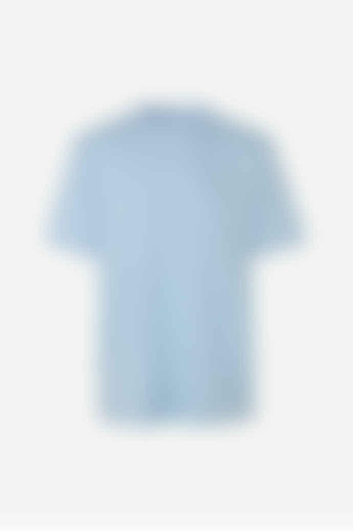 SamsoeSamsoe Light Blue Organic T-Shirt