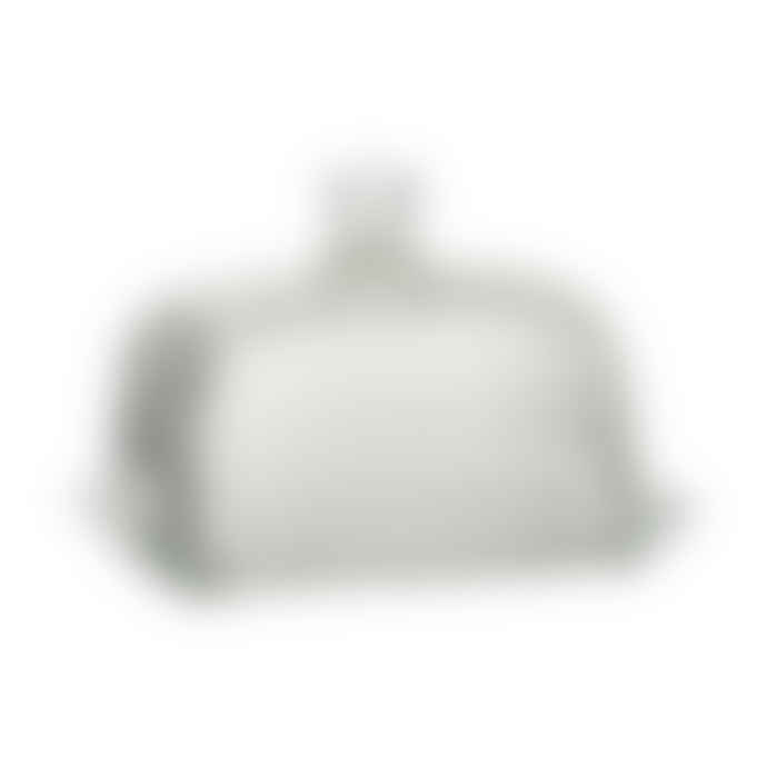 Ib Laursen Classic Grooved Glass Butter Dish