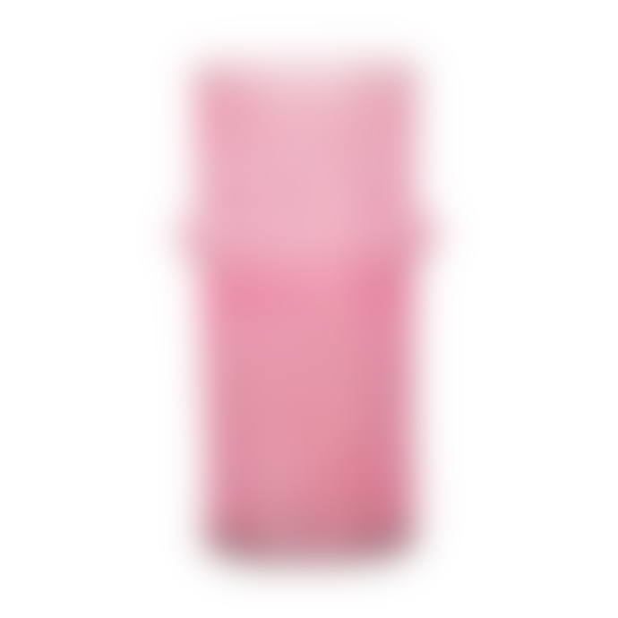 Urban Nature Culture Pink Recycled Glass Vase