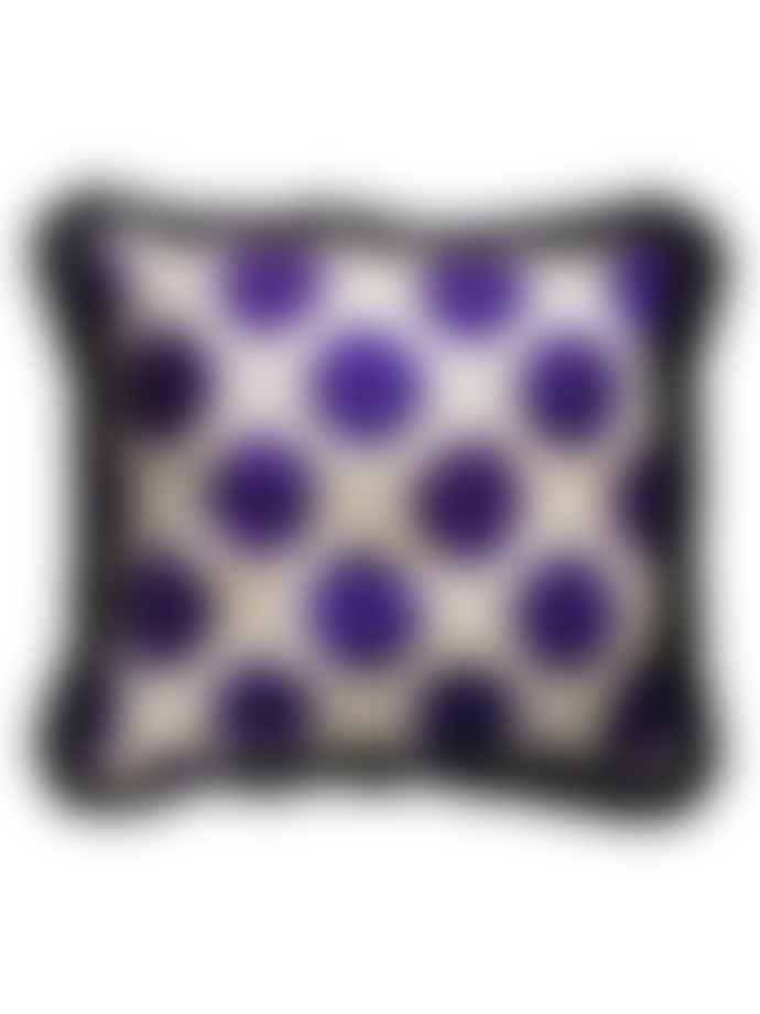 WolfWare Cushion Velvet Polkadot M