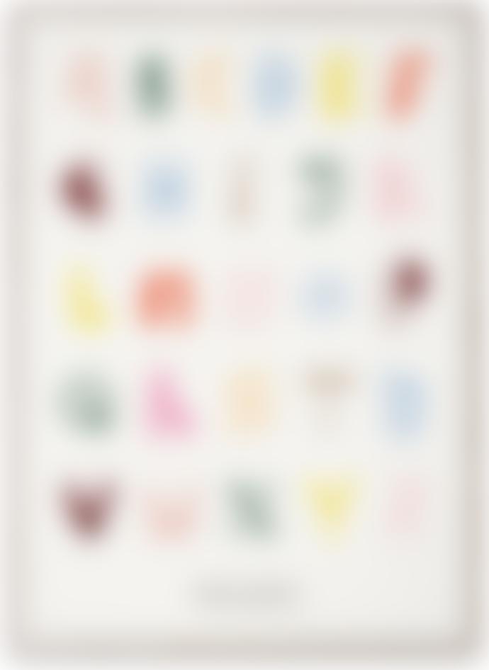 Paper Collective & Mado Alphabet Spaghetti Poster