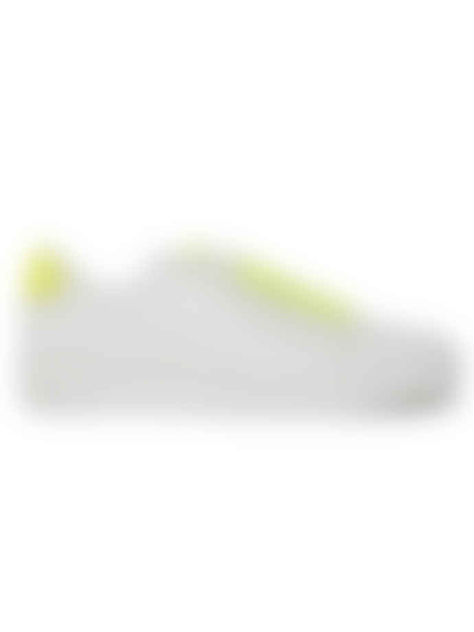 Philip Hog White and Lemon Isabella Trainer Sneakers