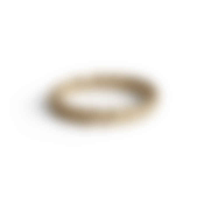 Jane Koenig Small Braided Ring gold