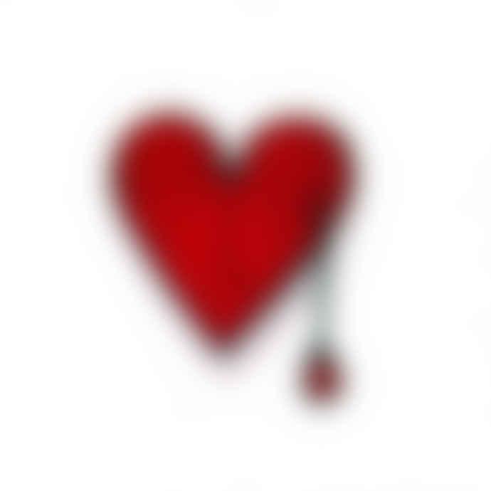 Macon & Lesquoy Bleeding Heart Brooch