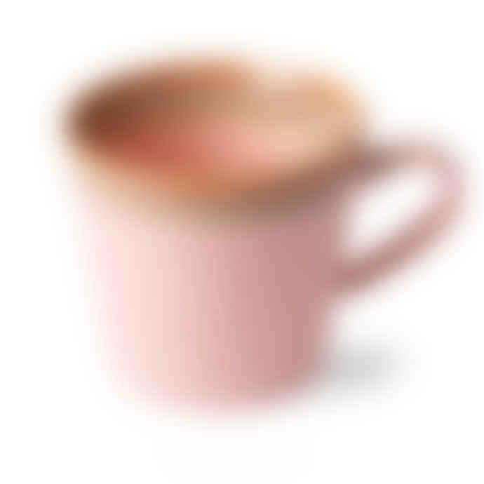 HKliving 70's Cappuccino Mug Pink