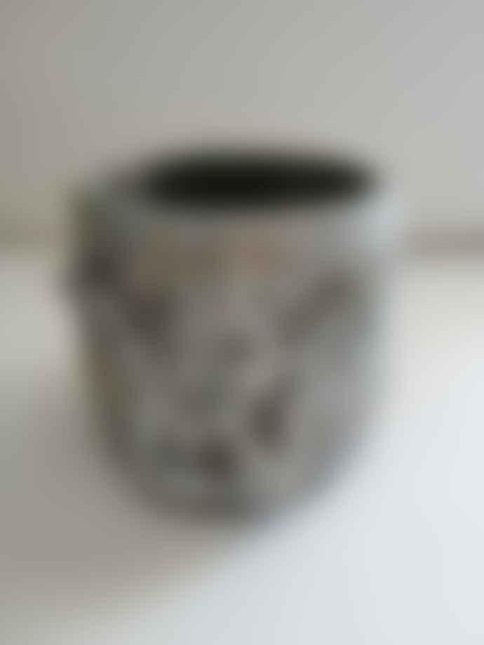 PTMD Silver Flowerpot/658