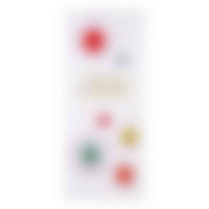 Meri Meri Pack of 6 Neon Ombre Pinwheels