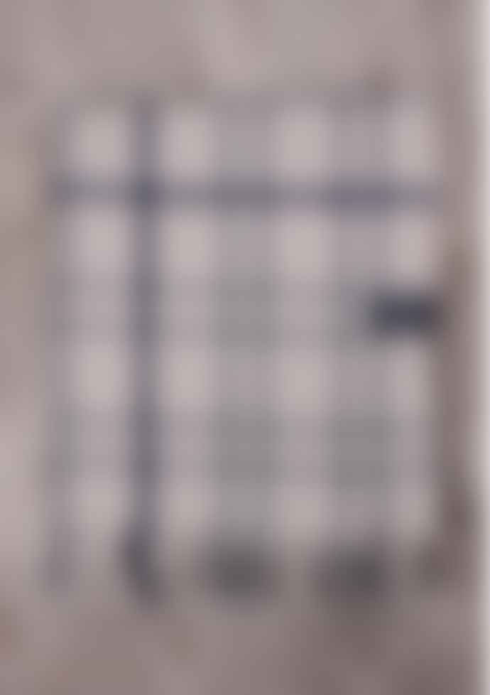 The Tartan Blanket Co. Recycled Wool Blanket - Light Grey Check