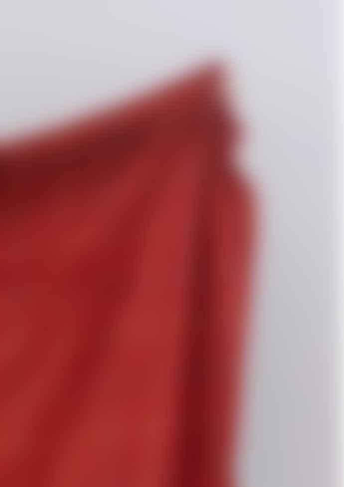 The Tartan Blanket Co. Recycled Wool Blanket - Rust Check