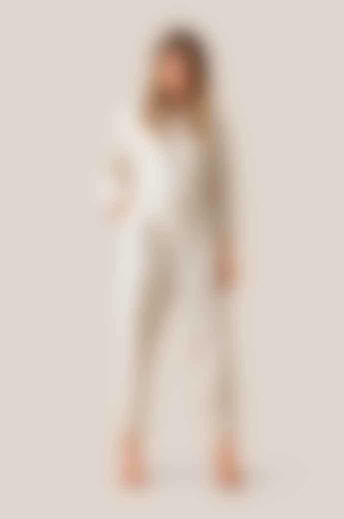 Second Female Second Female Selene Cream Jumpsuit