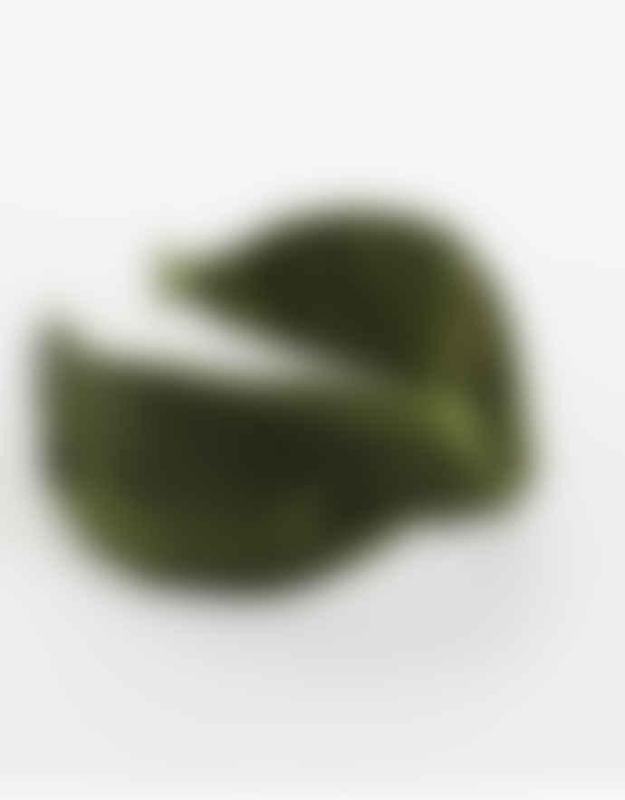Busby & Fox Green Satine Shiny Headband