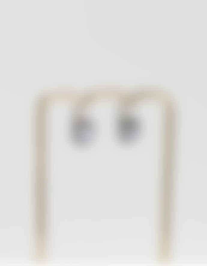 Busby & Fox Silver Plated Swarovski Drop Sofia Earrings