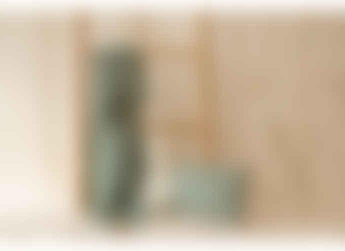 Nobodinoz 100 x 70 cm Toffee Sweet Dots Eden Green Organic Cotton Treasure Light Blanket