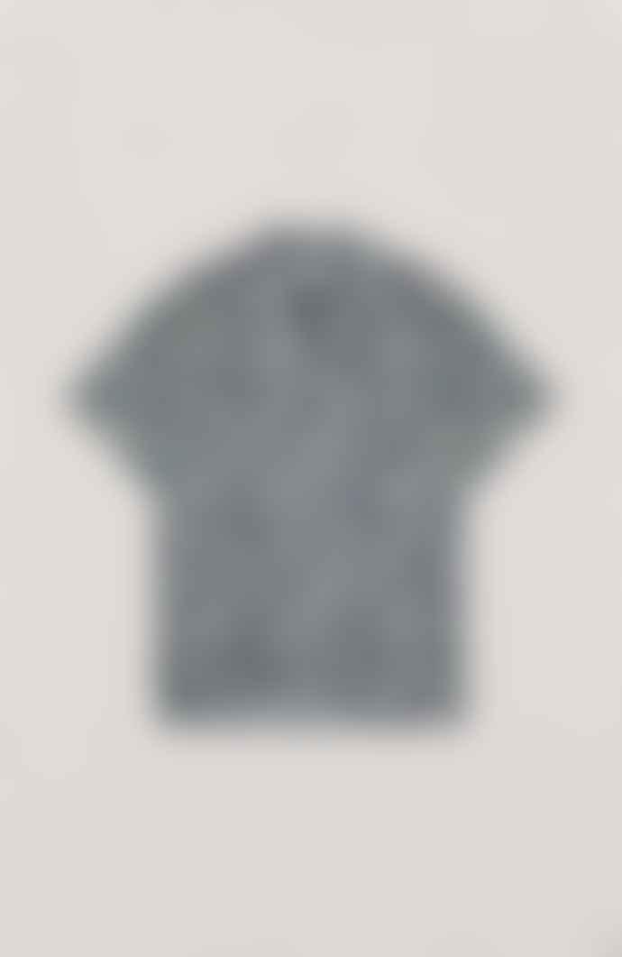 YMC Malick Shirt Multi Lavanda