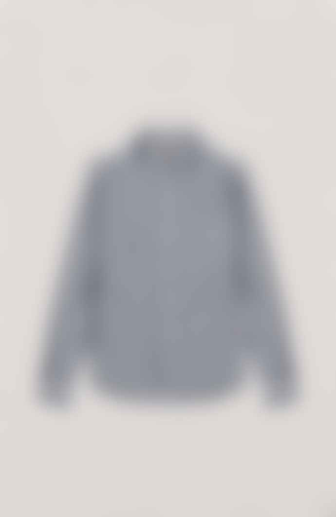YMC Curtis Shirt Navy Ecru