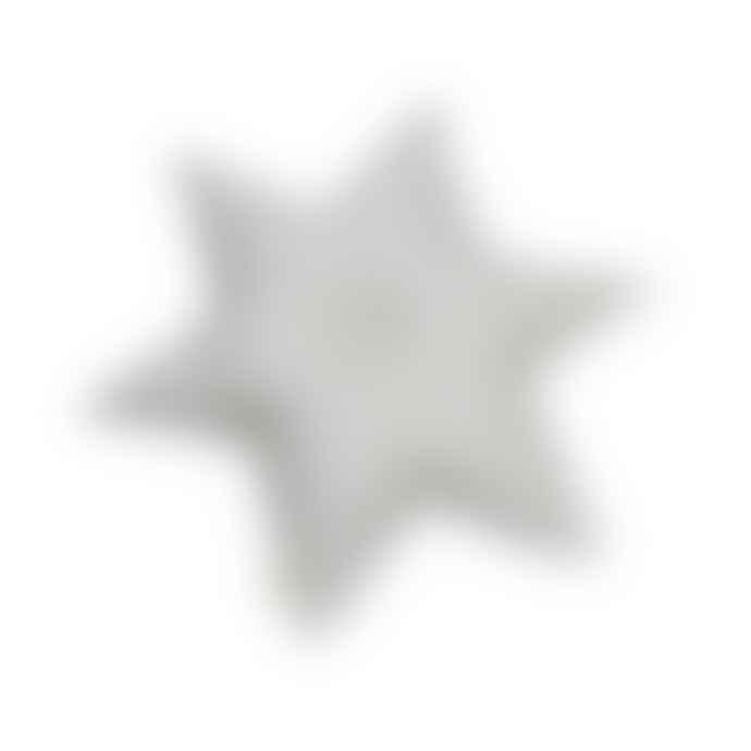 CamCam Grey Star Cushion Copenhagen