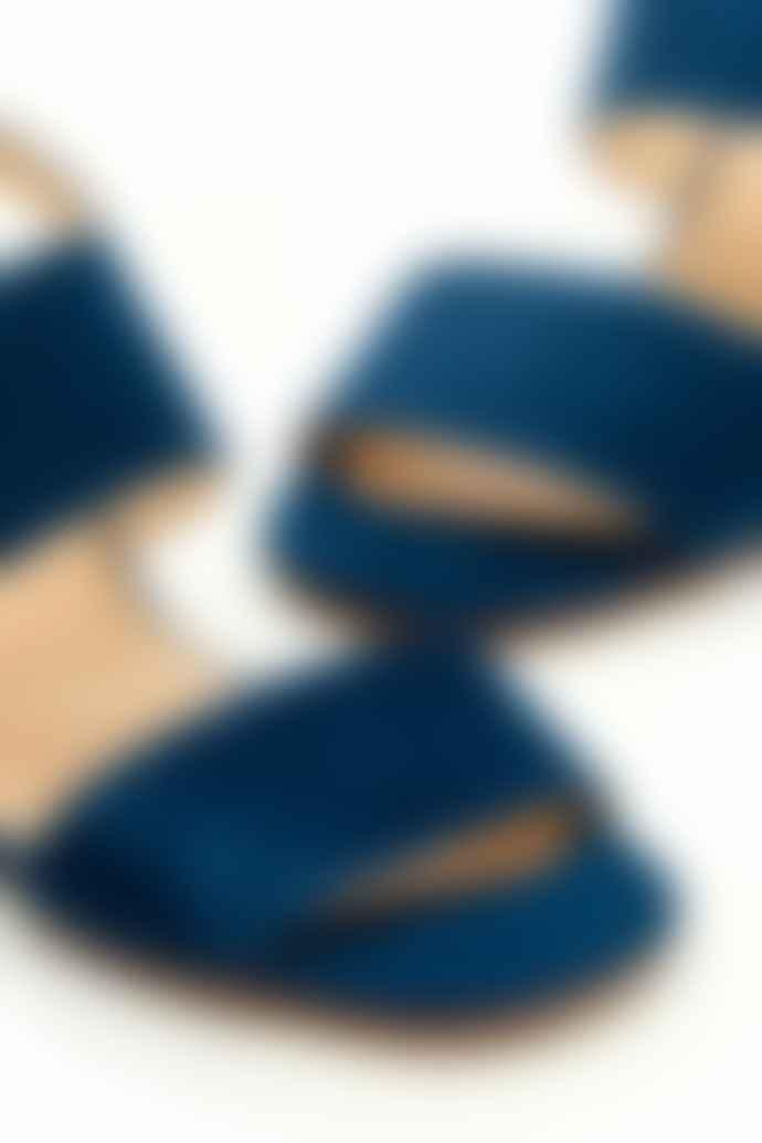 Fabienne Chapot Denim Blue Belle Sandal