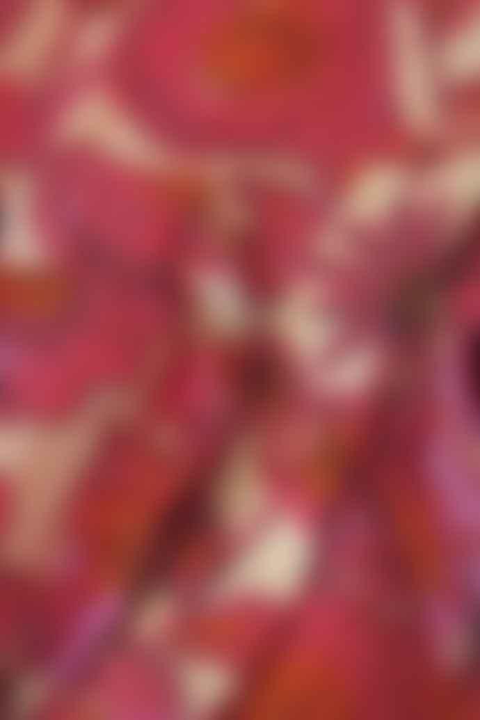 Fabienne Chapot Flower Curtain Print Frieda Long Dress
