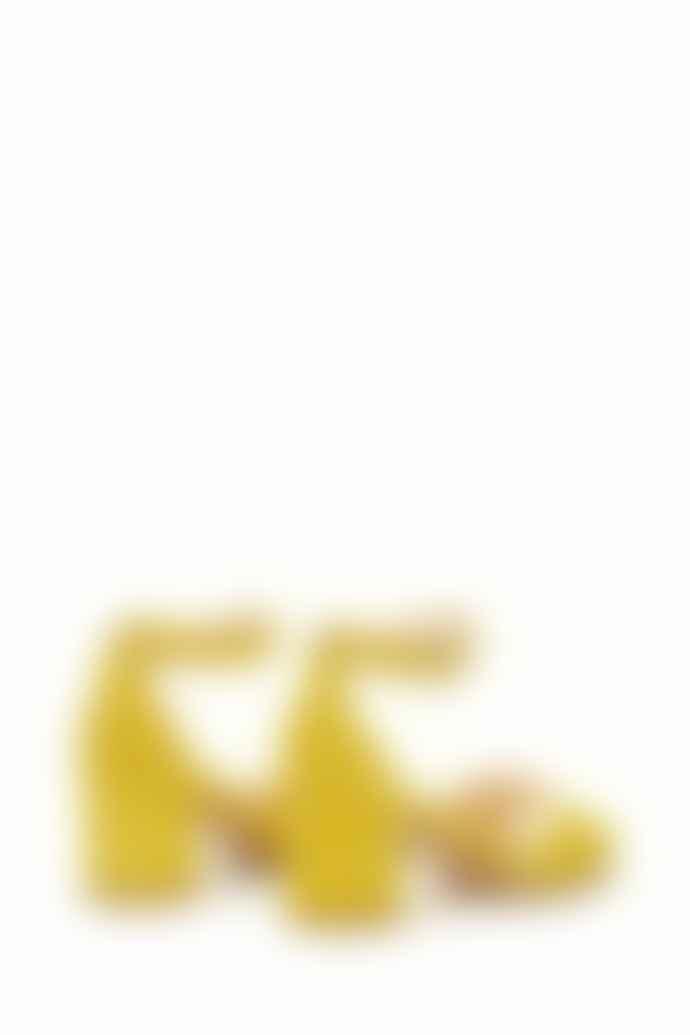 Fabienne Chapot Sunflower Yellow Yasmine Pump Sandal