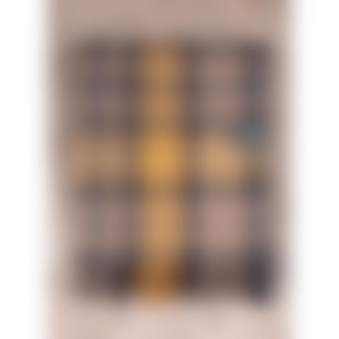 The Tartan Blanket Co. Recycled Wool Knee Blanket - Buchanan Natural Tartan