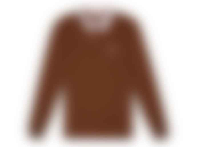 Hikerdelic Fellow Rugby Shirt Camel Brown