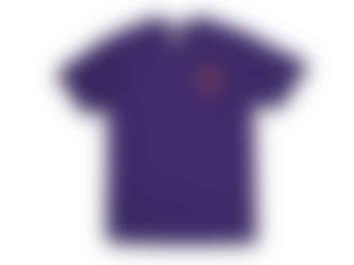 Hikerdelic Core Logo T Shirt Purple